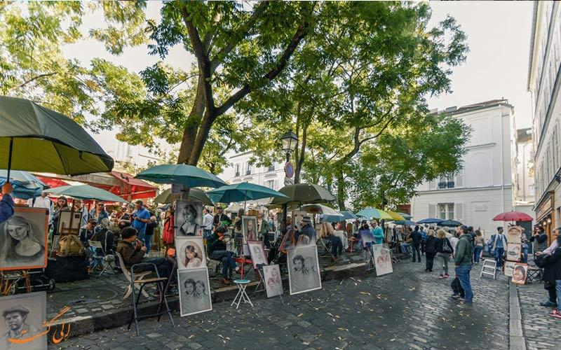 مونمارتر پاریس-محل نقاشان