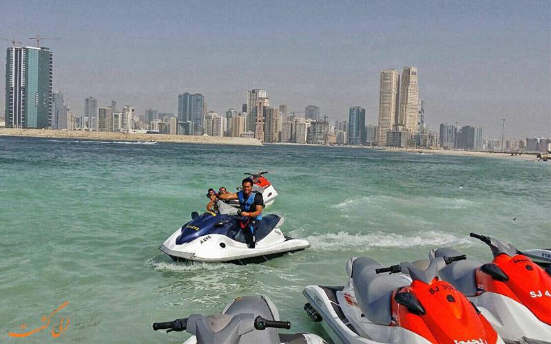 پارک آل ممزر دبی-تفریحات ساحلی
