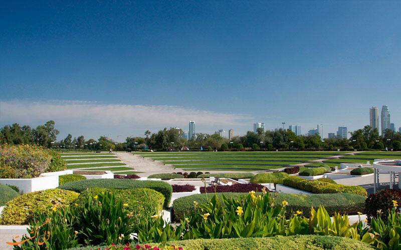 پارک آل ممزر دبی-فضای سبز