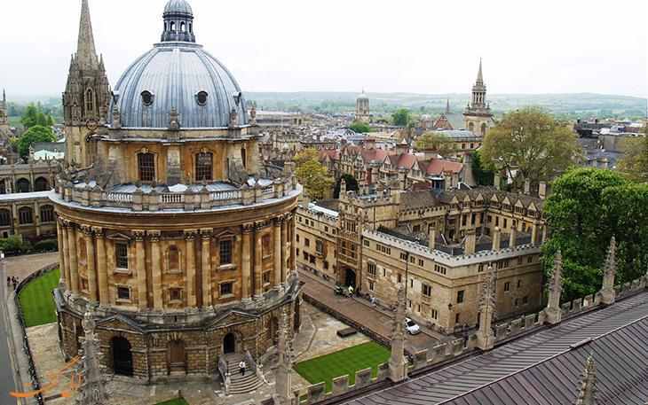 کتابخانه بادلین در آکسفورد