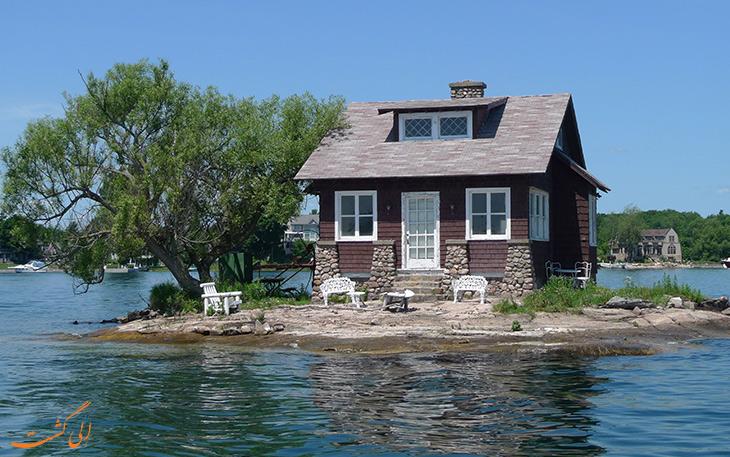 جزیره یک اتاقه