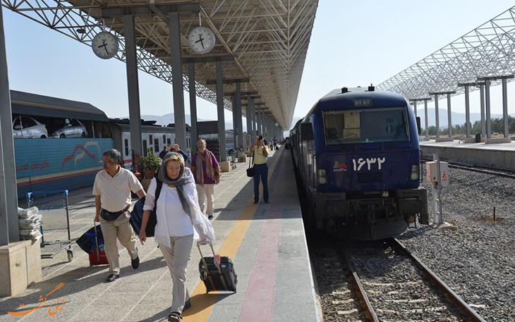 نخستین قطار ایران به آلمان