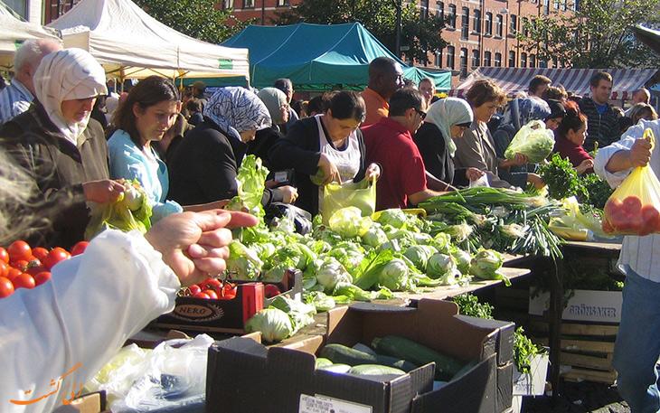 بازار کشاورزان مالمو