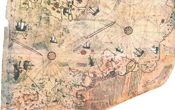 نقشه پیری ریس