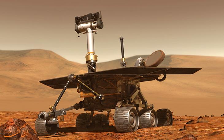 مریخ نورد اسپریت