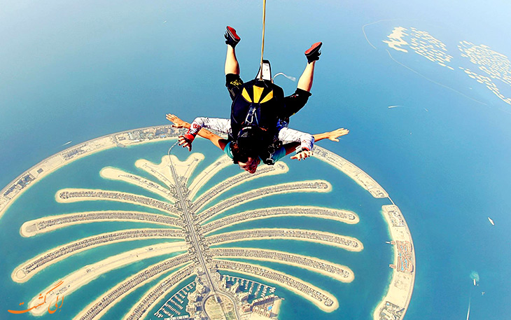 جزیره های نخلی دبی