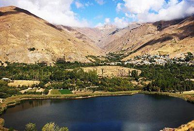 دریاچه اوان در قزوین