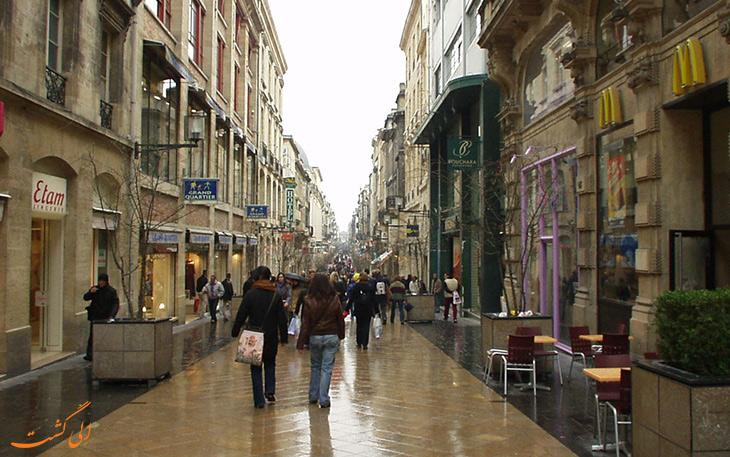 خیابان سنت کاترین در بوردو