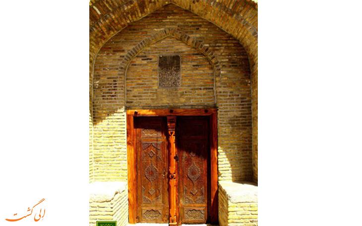 درب ورودی مسجد جامع بروجرد