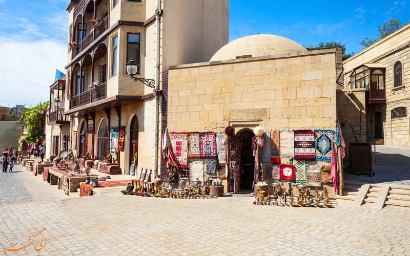 بازارهای سنتی باکو