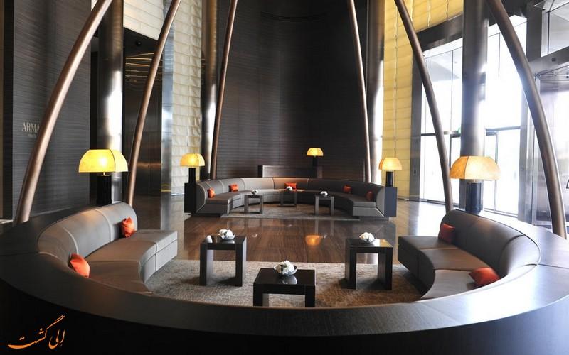 هتل 5 ستاره آرمانی در دبی