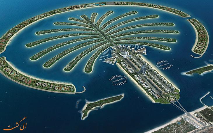جزیره های مصنوعی دبی
