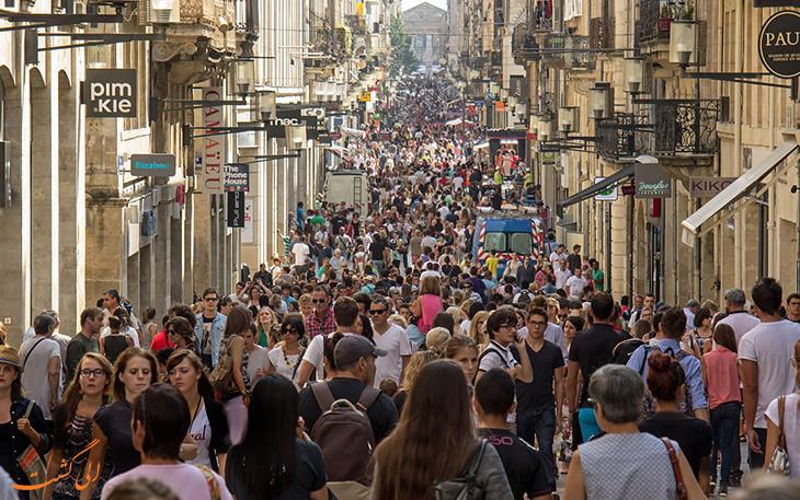 خیابان سنت کاترین طولانی ترین خیبان اروپا