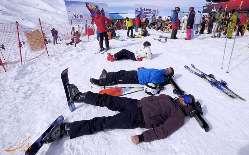 پیست دیزین، مکانی برای بهترین تفریحات برفی