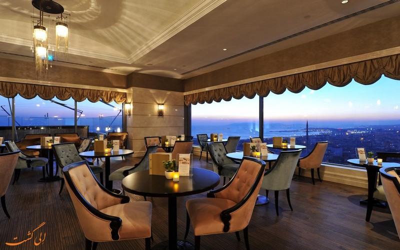 هتل 5 ستاره دیوان آسیا در استانبول