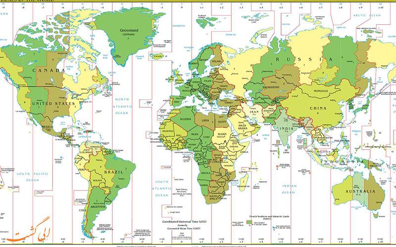 نقشه گرینویچ
