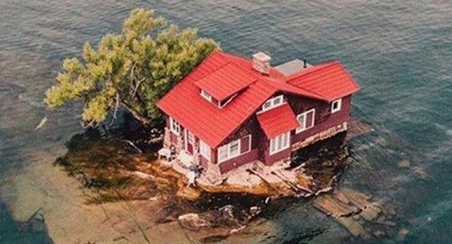 کوچکترین جزایر قابل سکونت