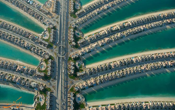 جاده سازی در جزیره دبی