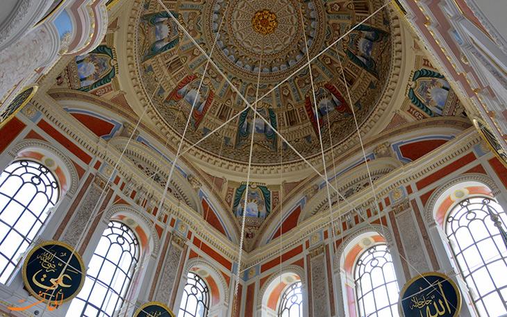 سقف مسجد اورتاکوی
