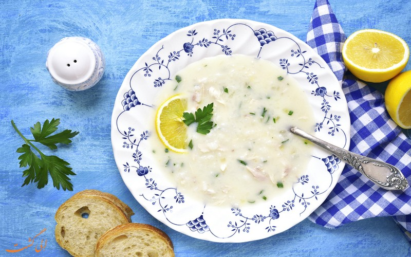 سوپ آوگولمونو یونان