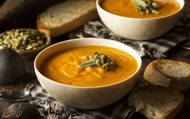 سوپ کدو هائیتی