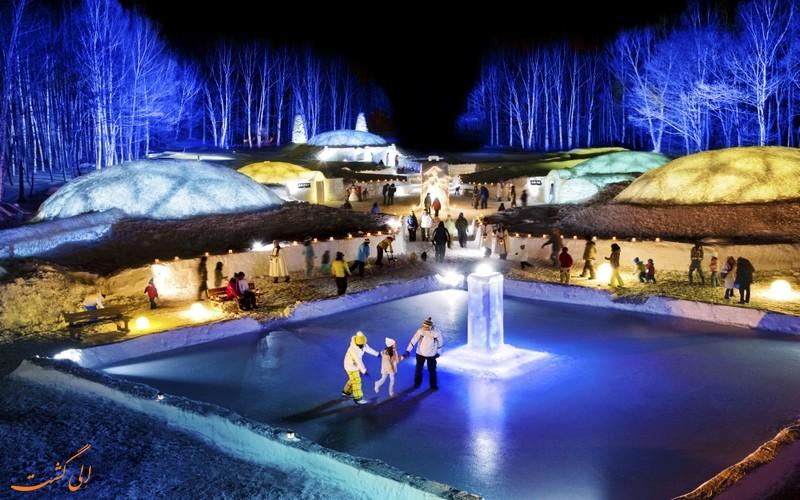 دهکده یخی هوکایدوی ژاپن