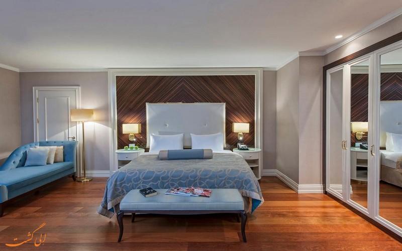 هتل 5 ستاره الیت ورد در استانبول