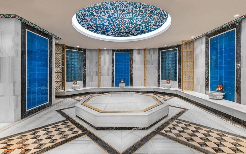 هتل 5 ستاره الیت ورد استانبول