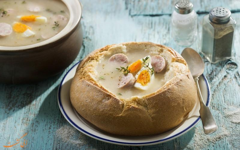 سوپ ژورک لهستان