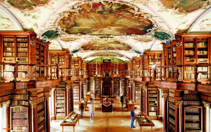 کتابخانه سنت گالن