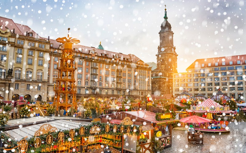 بازار کریسمس ماریان پلاتز