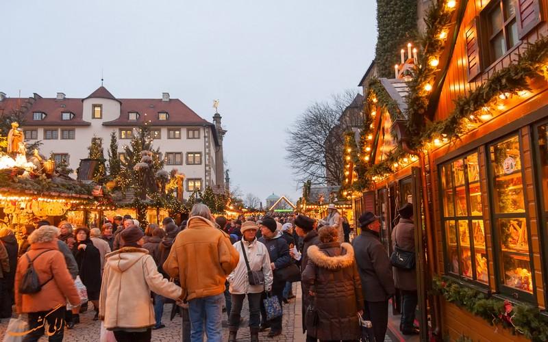 بازار کریسمس اشتوتگارت