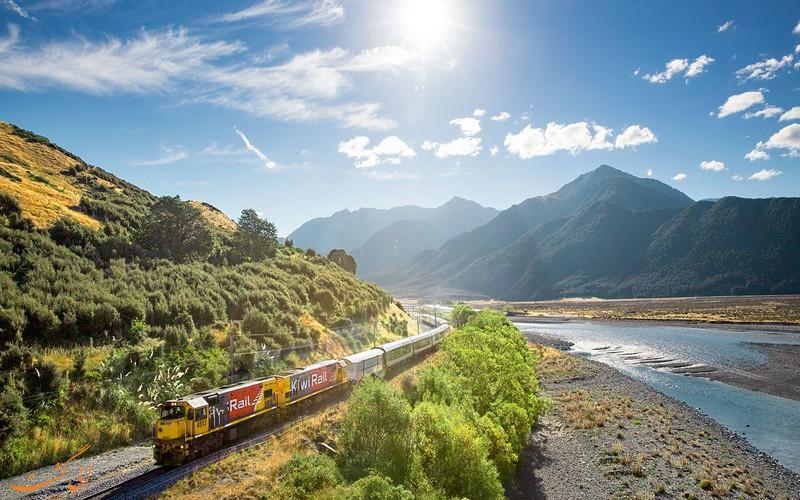 قطار ترانز آلپاین نیوزلند