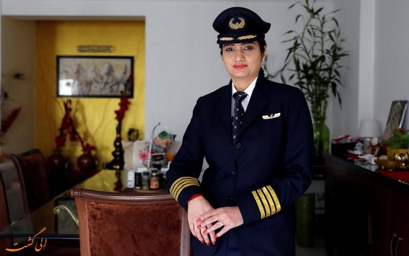 حضور زنان در صنعت هواپیمایی
