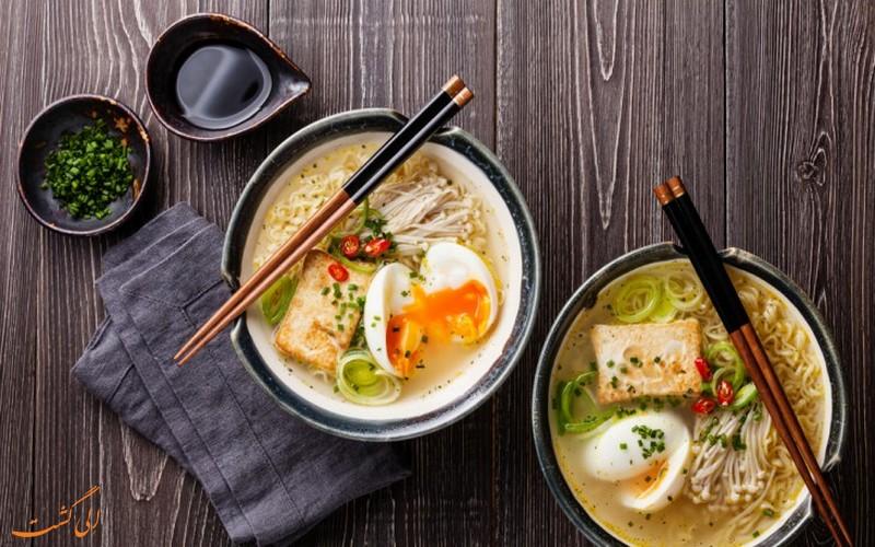 سوپ رامن ژاپن