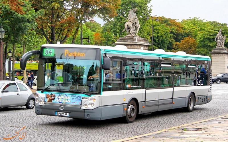 اتوبوس پاریس