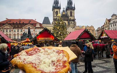 غذاهای خیابانی پراگ