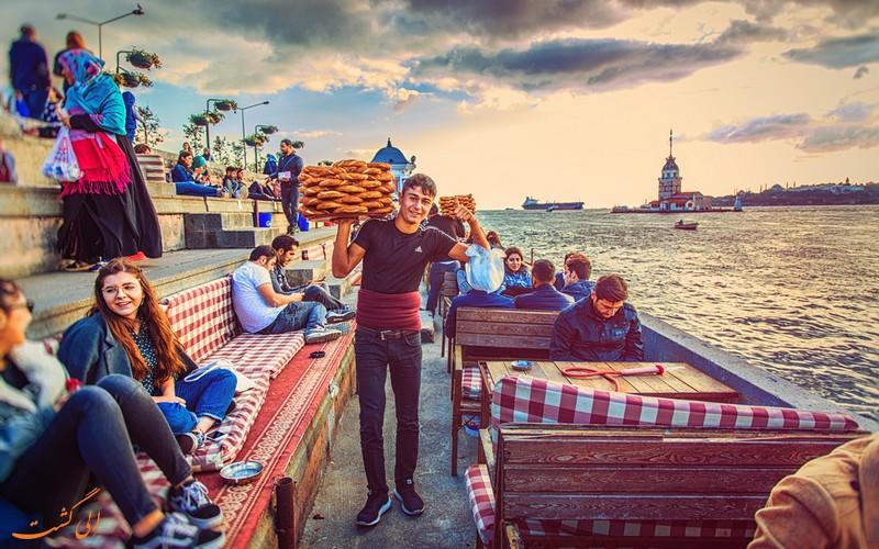 مردم محلی استانبول-خرید