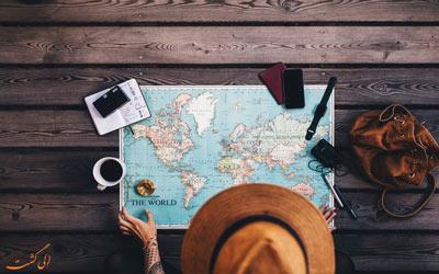 ویژگی های مثبت سفر کردن