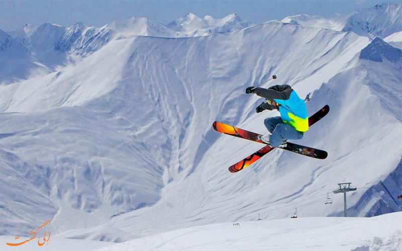 اسکی در گرجستان و گوداوری
