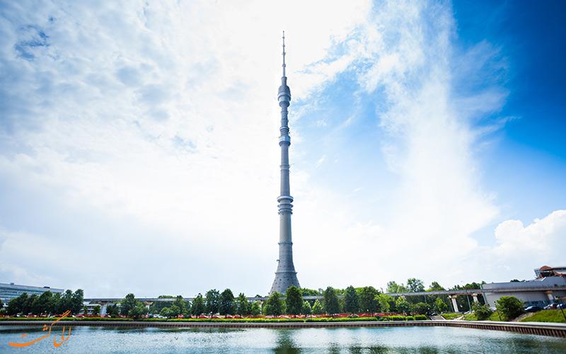برج استانکینو در مسکو