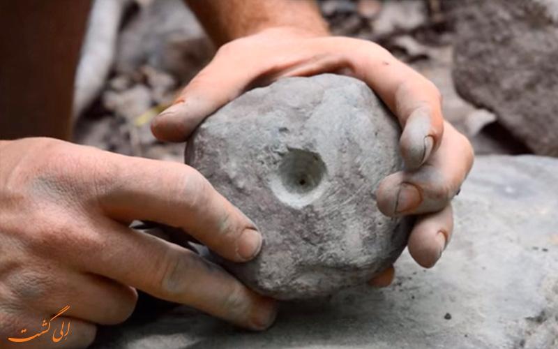 سنگ مورد نیاز برای روش کمانی