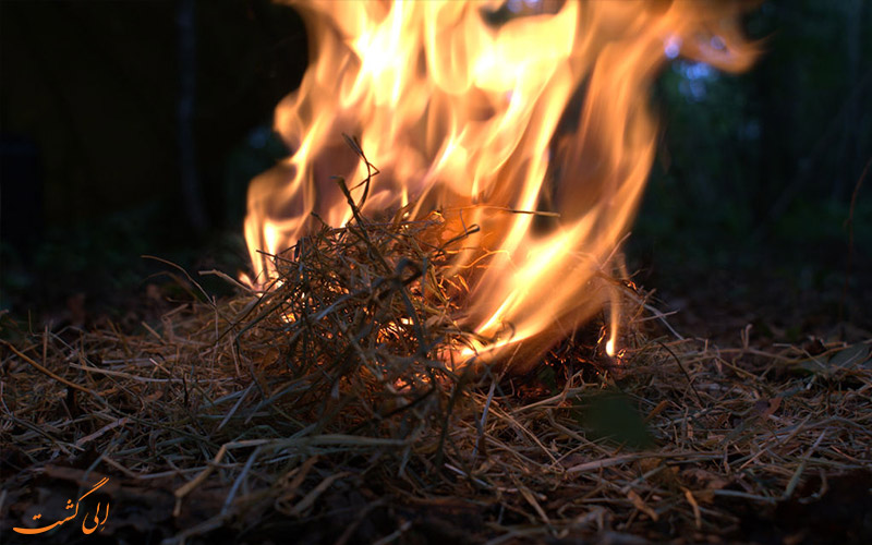 آتش روشن نمودن