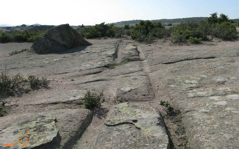 رد لاستیک های باستانی در ترکیه-عجیب