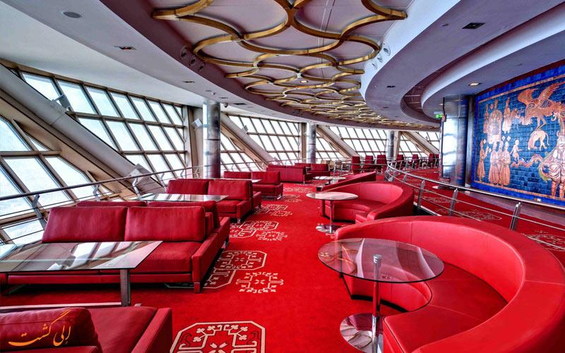 رستوران-گردان-برج-میلاد-تهران