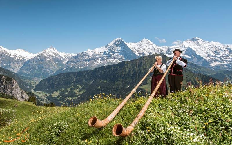 سفر 3 روزه به اینترلاکن سوئیس