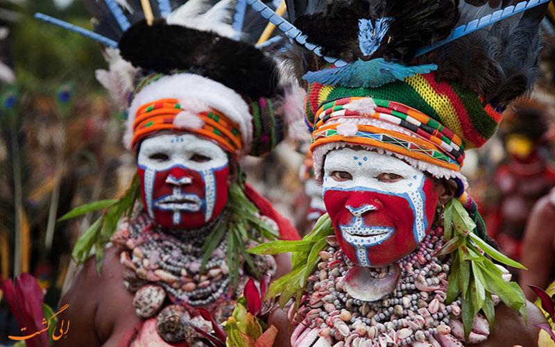 پاپوآ گینه نو-جزایر مختلف