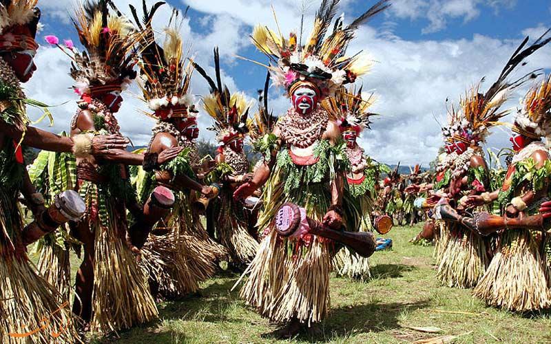 جشن های پاپوآ گینه نو