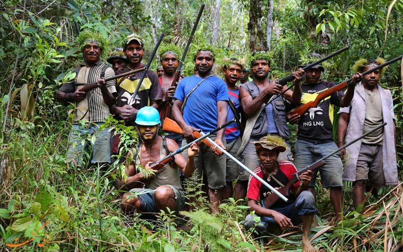 پاپوآ گینه نو-قبیله های مختلف