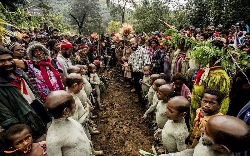 پاپوآ گینه نو و فرهنگ مردم آن